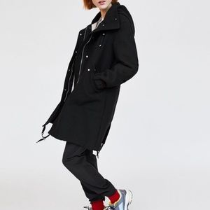 Zara Hooded Parka with Removable Lining